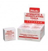 Mueller Gymnastics & Weightlifting Chalk - 2 oz bar