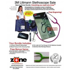 Littmann Classic III Student Special Package !! (back-up 1/11/20)