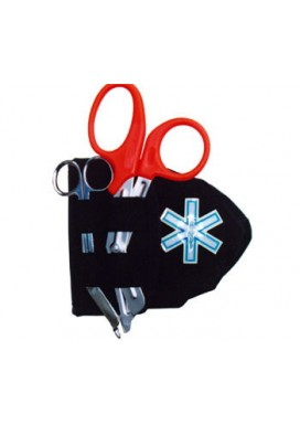 Basic Pocket Mask & Scissors Case (HT700) closed
