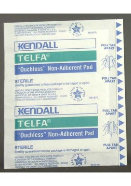 "Gauze Pads (sterile): Non-Adherent Dressing (3"" x 4""), 5/Bag"