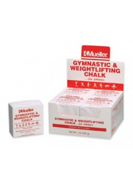 Mueller Gymnastics & Weightlifting Chalk - 2 oz bar
