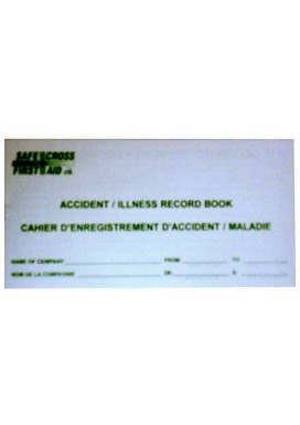 Accident Record Book - 50 Entries (Kit size)