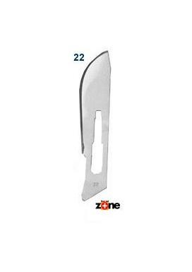 Scalpel Blades - #22, Stainless Steel