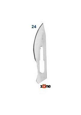 Scalpel Blades - #24, Stainless Steel