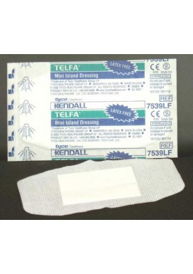 Gauze Pads (sterile): Non-Adherent Island Dressing