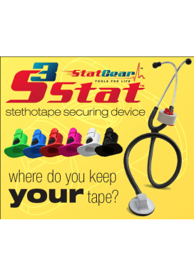 Stat Gear Stethoscope Tape Holder